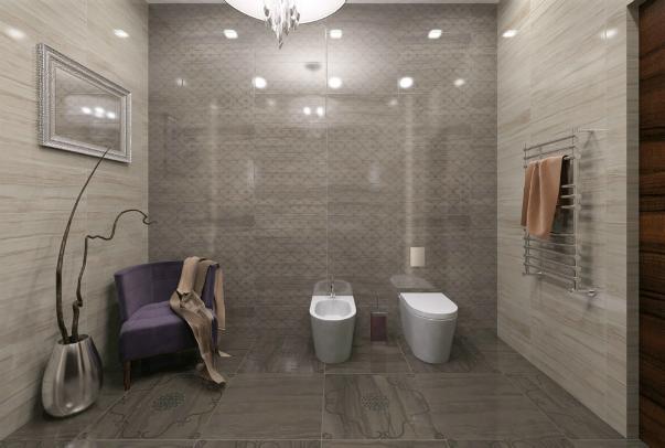 Дизайн 3d ванной комнаты