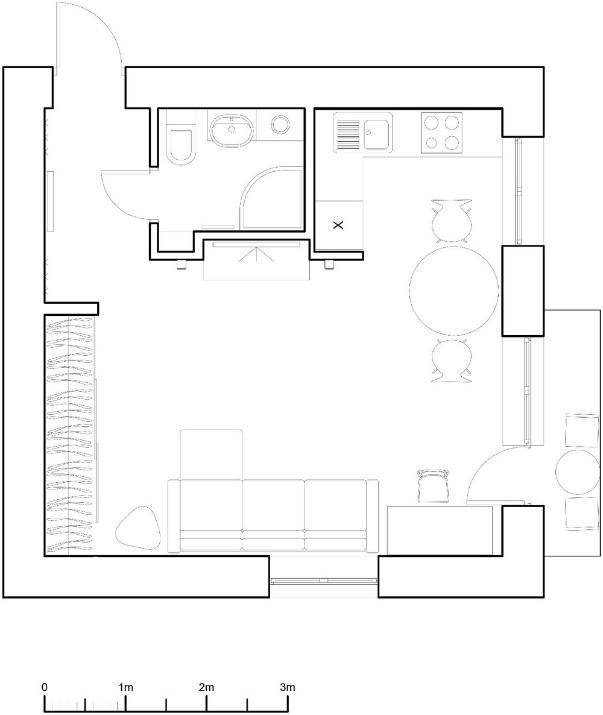Интерьер 4-х комнатной квартиры в панельном доме