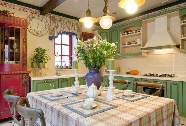 дизайн интерьера кухни в стиле прованс фото кухни в прованском стиле