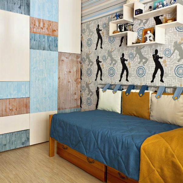 фото интерьеров спальни для двух мальчиков