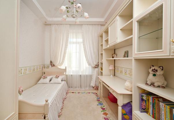 Продумываем дизайн маленькой детской комнаты (33 фото)