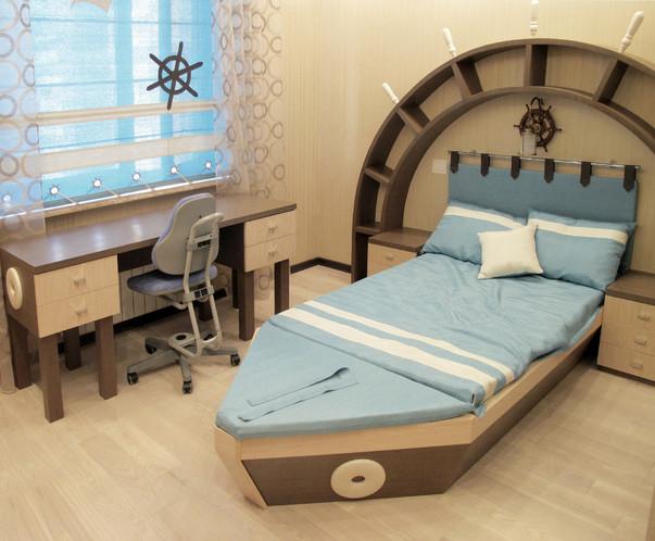 комнаты в морском стиле фото
