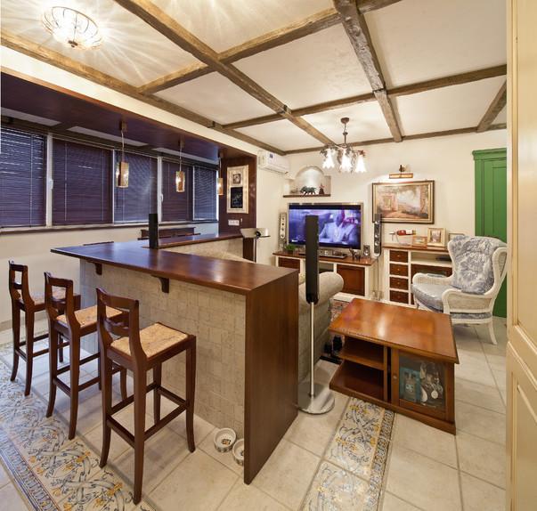 Дизайн кухни совмещенной с балконом интерьер