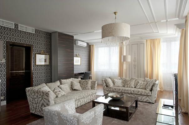 Дизайн гостиной со столовой фото