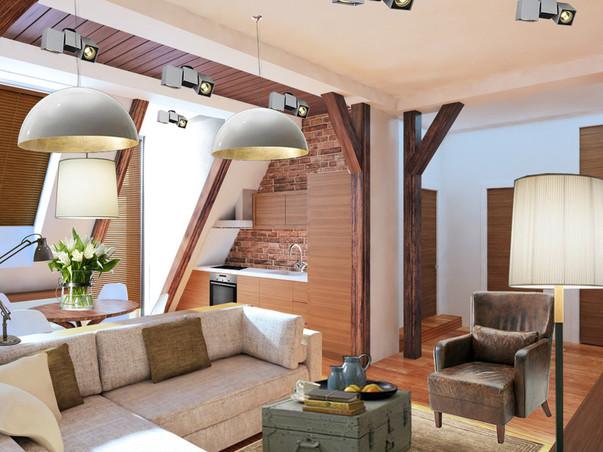Дизайн мини квартиры студии