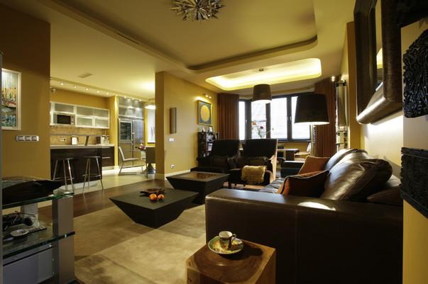 Желтый цвет в интерьере гостиной. Гостиная в жёлтых тонах