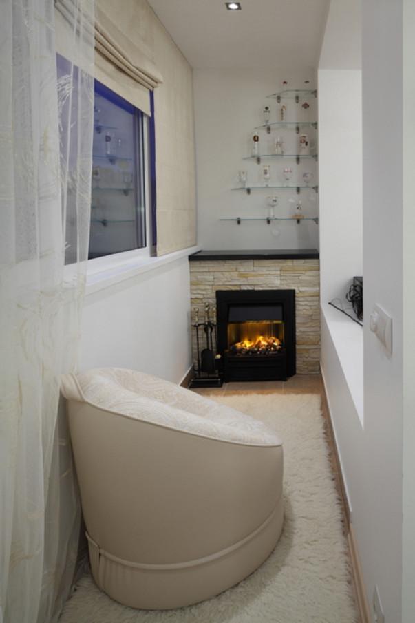 Фото отделки балконов. варианты отделки стен.