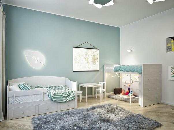 Светлый интерьер для семьи с ребенком. Идеи, которые легко повторить