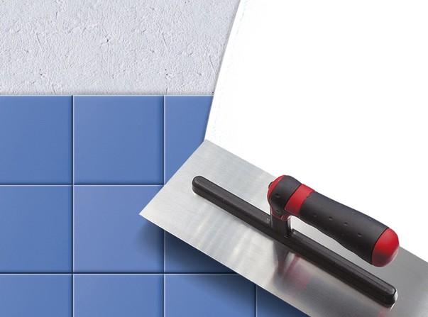 Заделка шва между ванной и стеной раствором