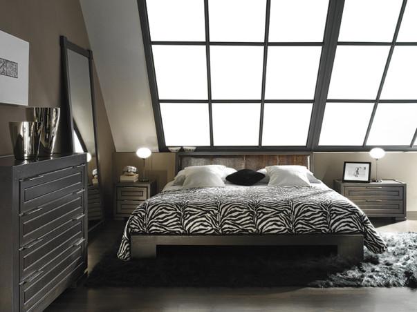 Мебель в спальне цвета венге