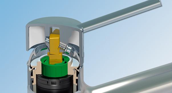 На фото: схема смесителя от