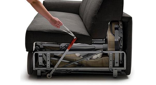 диван кровать раскладушка или с механизмом седафлекс