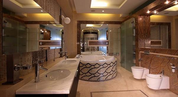 потолки в ванной комнате реечные фото