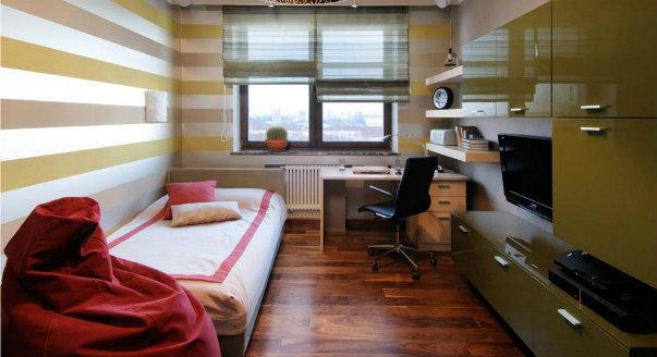 Детская комната школьника дизайн