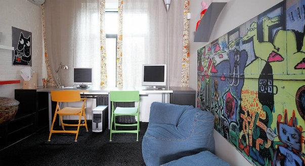 Дизайн компьютерных столов в детской комнатеграфии Угловой компьютерный стол в интерьере - 90 фото необычного
