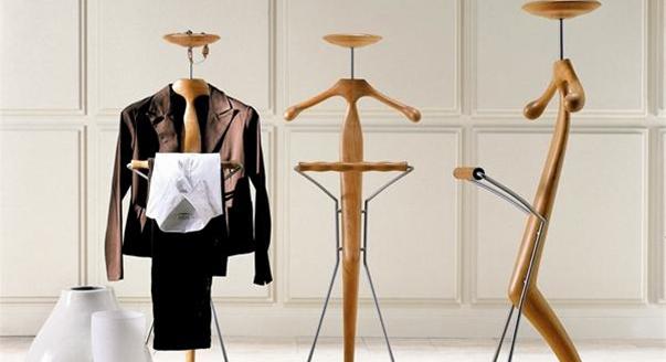 Напольные и настенные вешалки для одежды