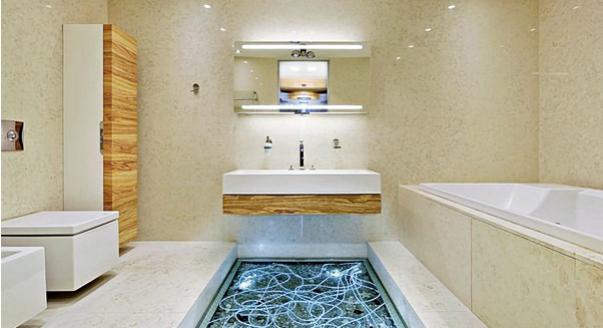 Материалы для отделки ванной комнаты купе двери в ванную комнату