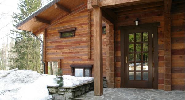 входная дверь для загородного дома пушкино