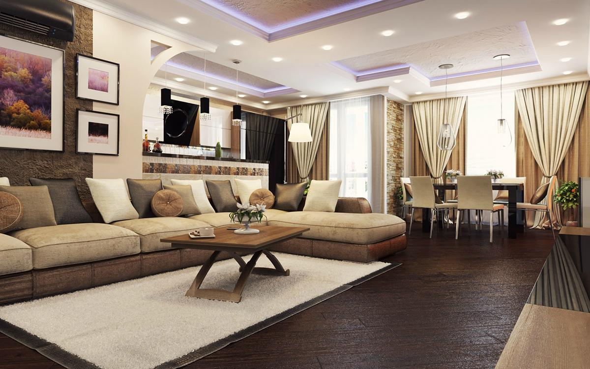 Ремонт 4-х комнатной квартиры общей площадью 87 кв