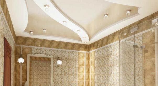 Потолок ванной комнаты 90 мебель в комнату небольшую