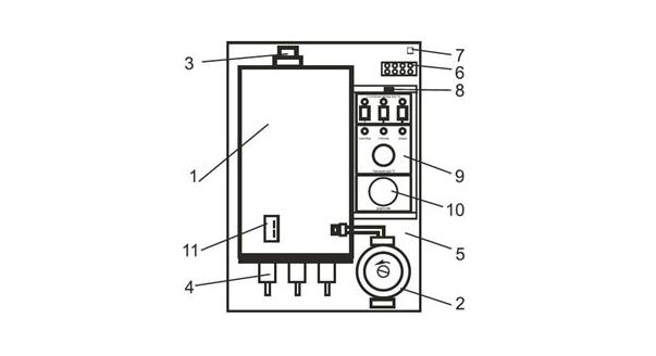 На фото: Схема устройства