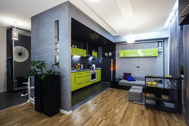 Дизайн проект однокомнатной квартиры 36