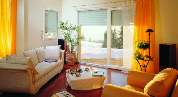 Металлические защитные рольставни на окна Наружные или