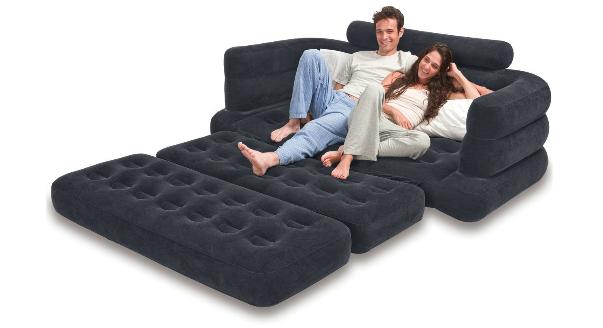 Выбираем надувной диван Intex