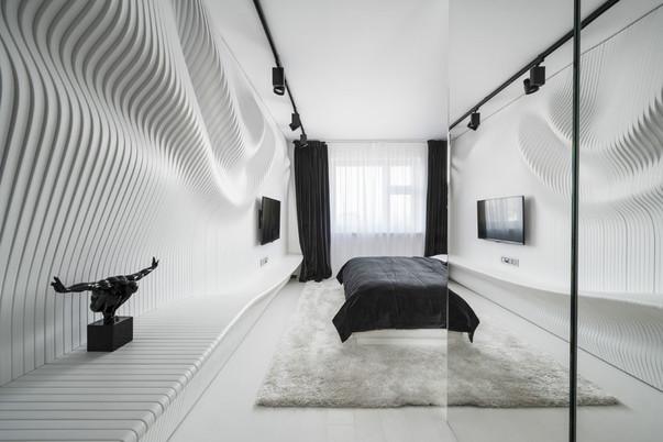 Футуристический дизайн спальни