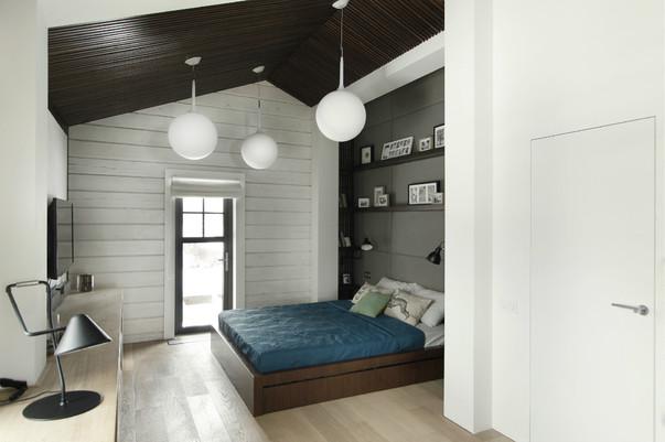 Интерьер белые стены и потолок