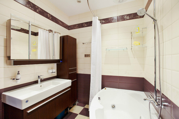 Дизайн ванной в новостройке