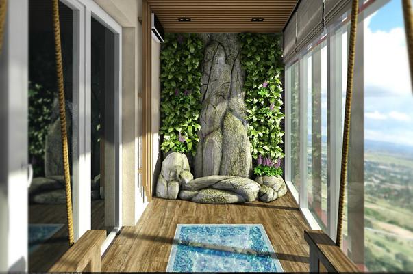 15 идей для уютного балкона ELLE Decoration 79