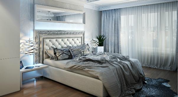 шторы фото спальня