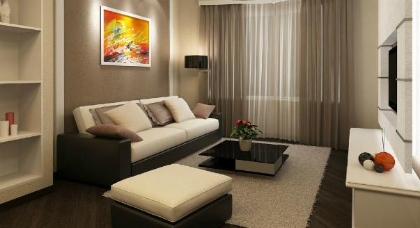 примеров квартир по 40 квм - маленькая, но уютная
