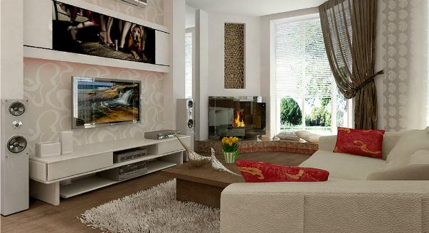 Дизайн однокомнатной квартиры (40 кв м): фото идей