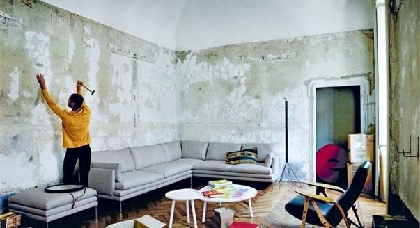 чем украсить стену в гостиной