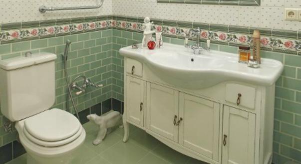 На фото: интерьер ванной