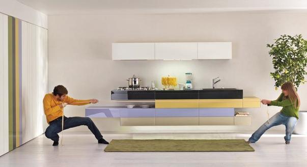 Фото шторы на кухни маленькие