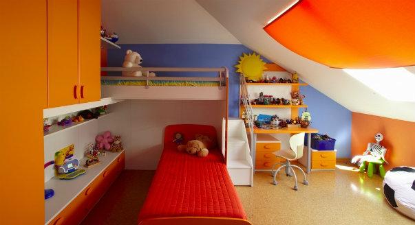 Дизайн мансарда детская фото