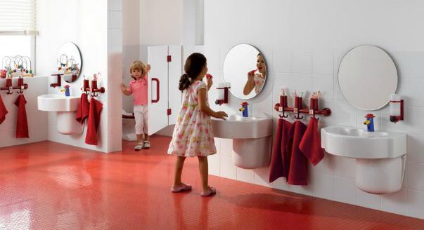 Дизайн детского туалета