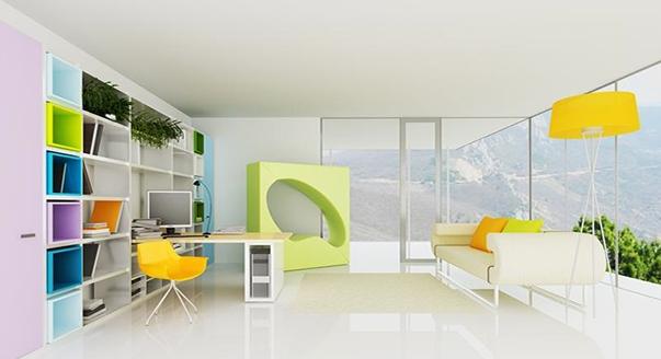 Модульные системы и стенки для гостиной