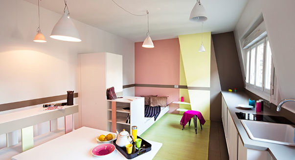 Дизайн квартиры студии 23 кв. м
