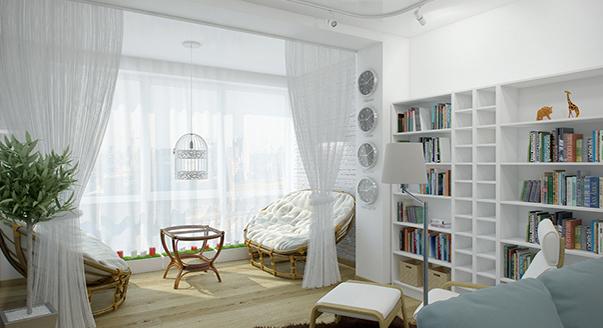 Перепланировка трехкомнатной квартиры: варианты и фото