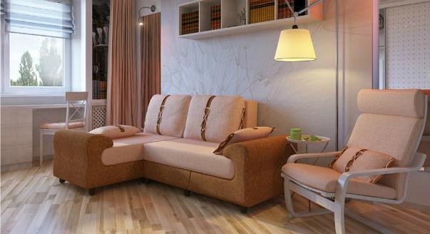Дизайн однокомнатной квартиры 34 кв м - 110 фото лучших