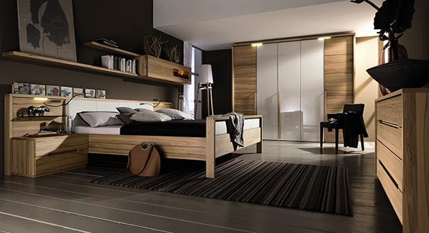 варианты мебели для спальни в современном стиле