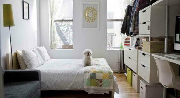 Теснота: 5 способов выжить в маленькой квартире