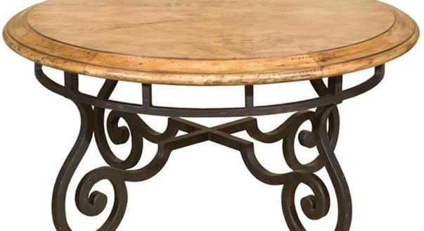 Столик прикроватный кованый деревянная столешница столешница для кухни серебристый иней