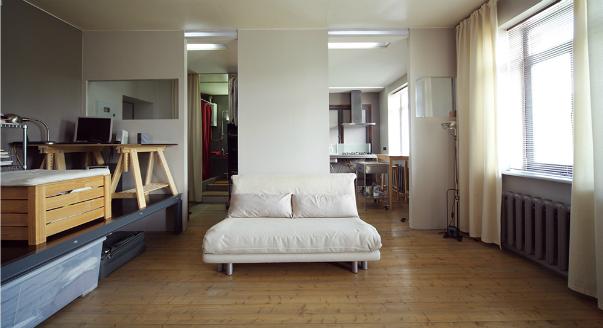 перепланировка 1-но комнатной квартиры в 2-х комнатную