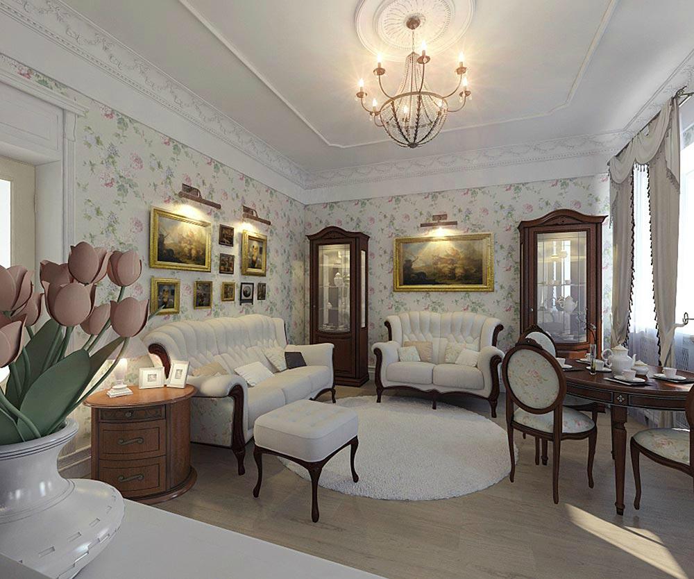 Готовые проекты дизайна 2х комнатной квартиры