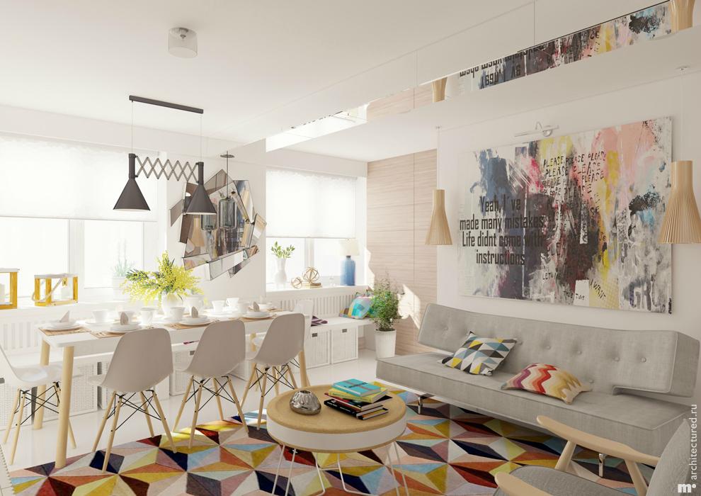 Дизайн 3-комнатной квартиры, м Юго-Западная